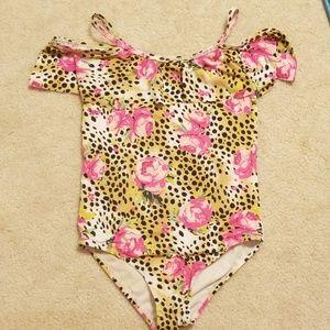 EUC Betsy Johnson cheetah Swimsuit